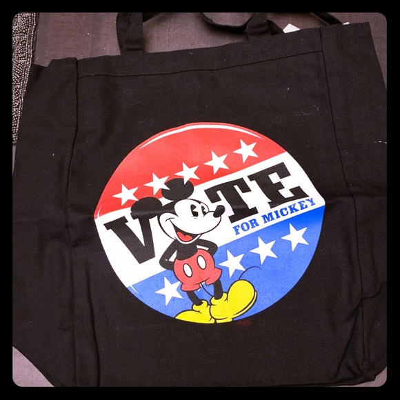 "🌈NWT ""vote for Mickey "" tote bag🌈"